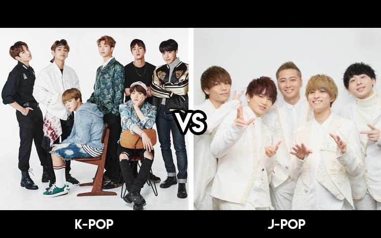 J-POP Dan K-POP
